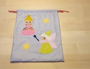 Aplicaciones Princesa, Bruja, Infantil , patchwork y costura