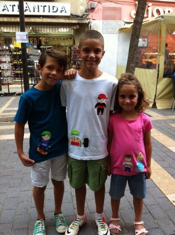 Aplicaciones infantiles patchwork